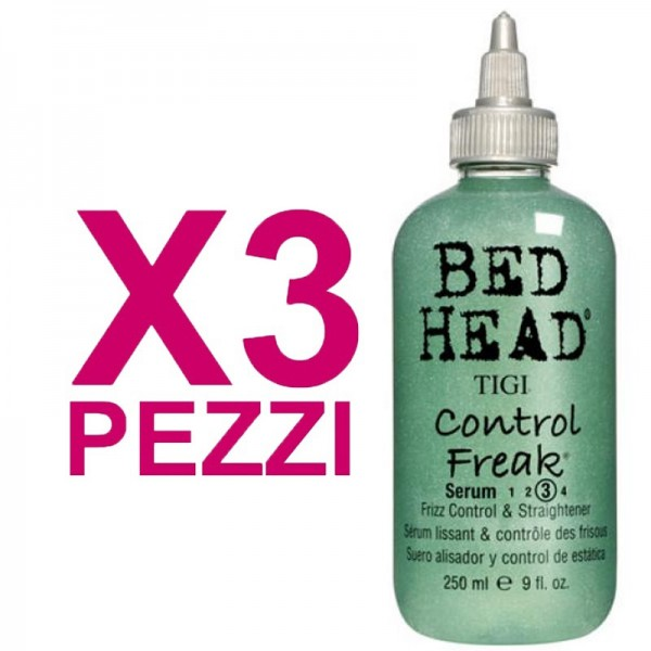 TIGI Kit Bed Head Control Freak Serum 250ml 3 Pezzi