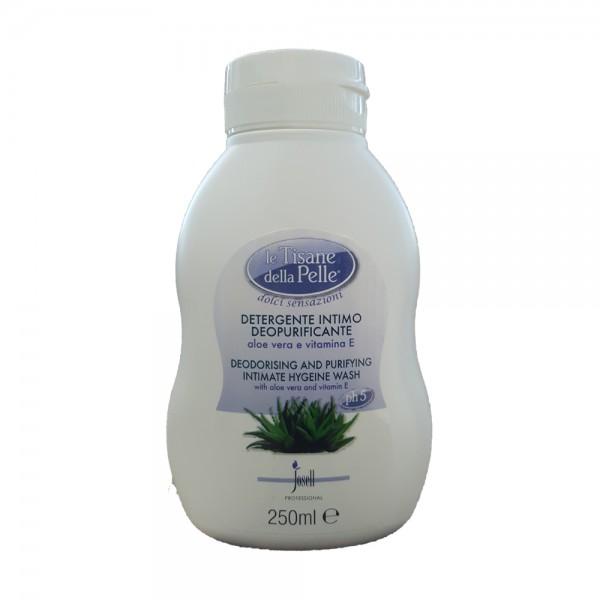 TISANE DELLA PELLE Detergente Intimo Deopurificante Aloe Vera e Vitamina E 250 ml