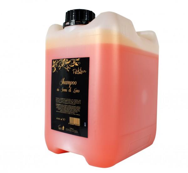 Shampoo ai semi di lino in tanica 10lt