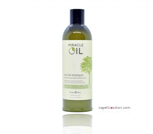 Miracle Oil Tea Tree Shampoo 473 ml