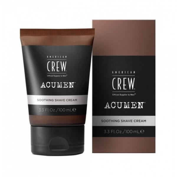AMERICAN CREW Acumen Soothing Shave Cream 100ml