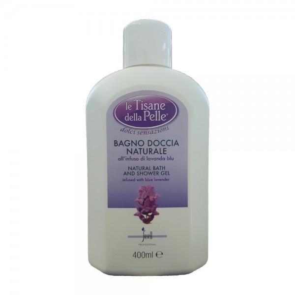 TISANE DELLA PELLE Bagno Doccia Naturale All'Infuso Di Lavanda Blu 400 ml