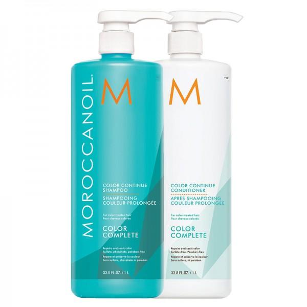 MOROCCANOIL Kit Color Continue Shampoo 1000ml + Conditioner 1000ml