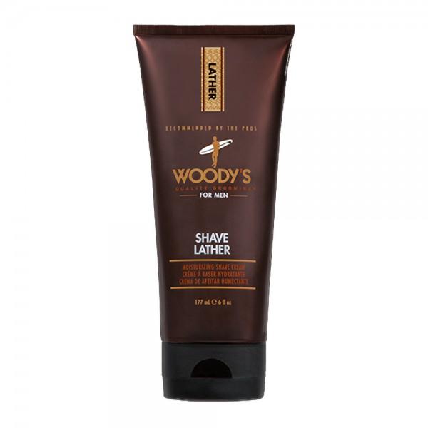 WOODY'S Shave Lather Crema Idratante Da Barba 177ml