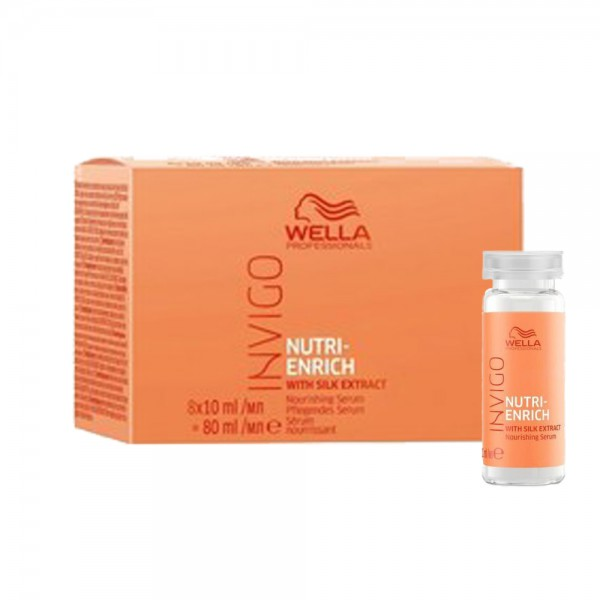 WELLA Invigo Nutri-Enrich Repair Serum 8x10ml