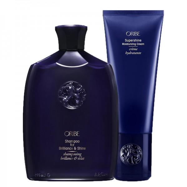 ORIBE Kit Shampoo for Brilliance & Shine 250ml + Conditioner 200ml