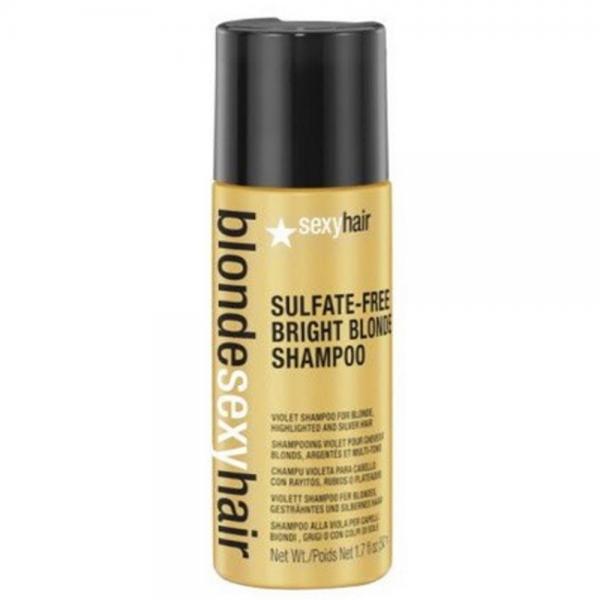 SEXY HAIR Blonde Sexy Hair Sulfate-Free Bright Blonde Shampoo 50ml