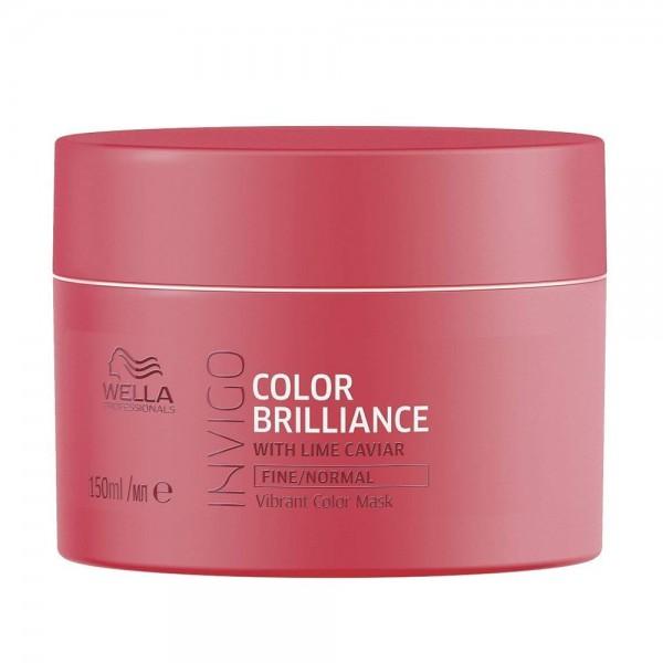 WELLA Invigo Color Brilliance Maschera Capelli Sottili/Normali 150ml